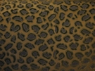 BEACON HILL CHEETAH VELVET ANIMALE VISCOSE UPHOLSTERY FABRIC MOONSTONE