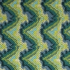 BEACON HILL COPA MOSAIC SILK FABRIC OASIS GREEN