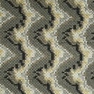 BEACON HILL COPA MOSAIC SILK FABRIC PLATINUM