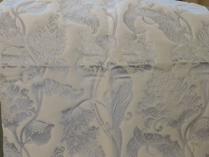 BEACON HILL DELAPIERRE OLD WORLD SILK FABRIC ICE WINE