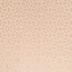 BEACON HILL ELHAM GEOMETRIC SILK JACQUARD FABRIC BLUSH