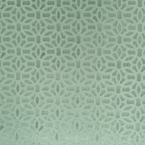 BEACON HILL ELHAM GEOMETRIC SILK JACQUARD FABRIC SURF
