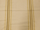 BEACON HILL GINETTE COTTON STRIPE FABRIC ANTIQUE