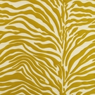 BEACON HILL KAWA ZEBRA JACQUARD SILK FABRIC MANGO