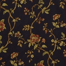 BEACON HILL KINVARRA FLORAL UPHOLSTERY FABRIC DELFT BLUE