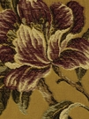 BEACON HILL KINVARRA FLORAL UPHOLSTERY FABRIC GOLDENROD