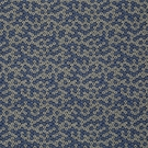 BEACON HILL LUANA FLORETTE SILK JACQUARD EMBROIDERED FABRIC ISLAND BLUE