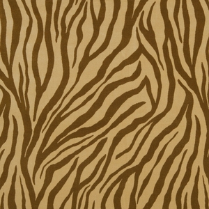 BEACON HILL MUMBAI ANIMAL VELVET UPHOLSTERY FABRIC COPPER