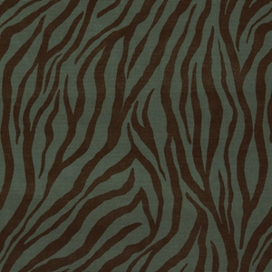 BEACON HILL MUMBAI ANIMAL VELVET UPHOLSTERY FABRIC TOURMALINE
