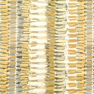 BEACON HILL PLUMASSIER ABSTRACT NOUVEAU FABRIC SILVER GOLD MULTI