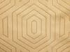 BEACON HILL PRIMO VELVET CONTURED GEOMETRIC UPHOLSTERY FABRIC PLATINUM