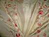 BEACON HILL RIMINI EMBROIDERED FLORAL SILK TAFFETA FABRIC 10 YARDS
