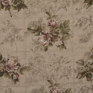 BEACON HILL ROSA CANINA FLORAL LINEN FABRIC WISTERIA