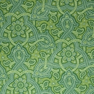 BEACON HILL SAMBA PAISLEY SILK JACQUARD EMBROIDERED FABRIC EMERALD