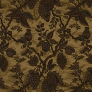 BEACON HILL SANTA LUCIA FRUIT UPHOLSTERY FABRIC EBONY