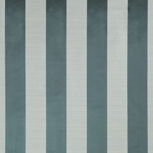 BEACON HILL SATIN SMOOTH SILK STRIPE FABRIC NEPTUNE