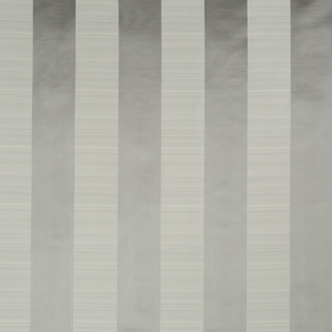 BEACON HILL SATIN SMOOTH SILK STRIPE FABRIC PLATINUM