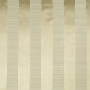 BEACON HILL SATIN SMOOTH SILK STRIPE FABRIC TRAVERTINE