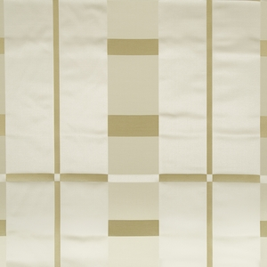 BEACON HILL STUDIO PLAID SILK PLAID FABRIC GOLD