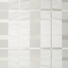 BEACON HILL STUDIO PLAID SILK PLAID FABRIC SILVER