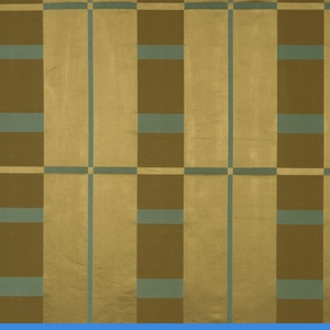 BEACON HILL STUDIO PLAID SILK PLAID FABRIC WARM GOLD