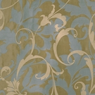 BEACON HILL TATANIAS SCROLL LUXURY WINDOW SILK FABRIC STEEL