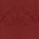 BRUNSCHWIG & FILS DOUGLAS WOVEN TEXTURE WOOL DAMASK FABRIC 10 YARDS RED CURRANT