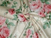 BRUNSCHWIG & FILS COURTNEY SHABBY ROSES ENGLISH COUNTRY CHINTZ TOILE FABRIC 10 YARD BOLT