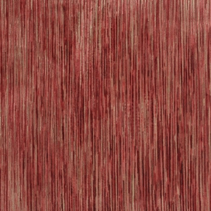 CLARENCE HOUSE AUVERS VELVET FABRIC RED