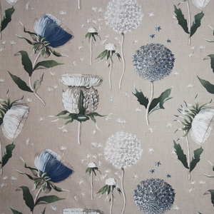 CLARENCE HOUSE CHARDON FABRIC BLUE 2