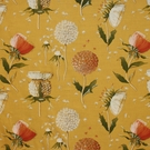 CLARENCE HOUSE CHARDON FABRIC YELLOW 3