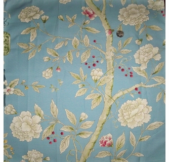 Clarence House Chinoiserie Blossoms Erflies Berries