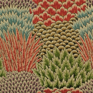 CLARENCE HOUSE EXCLUSIVE PIENZA BARGELLO WOVEN FABRIC MULTI