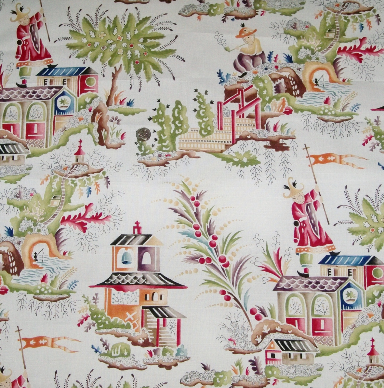 Clarence House French Chinoiserie
