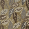 CLARENCE HOUSE LAURELWOOD WOVEN LINEN VELVET FABRIC 7 YARDS BROWN GRAY MULTI