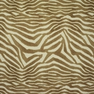 CLARENCE HOUSE MANDARI ANIMAL PRINT LINEN FABRIC TAN