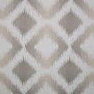 CLARENCE HOUSE MARBELLA IKAT KILIM WOVEN FABRIC TAUPE