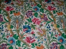 CLARENCE HOUSE MARRAKECH TROPICAL JACOBEAN FRENCH CHINTZ FABRIC 10 YARD MULTI