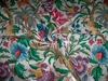 CLARENCE HOUSE MARRAKECH TROPICAL JACOBEAN FRENCH CHINTZ FABRIC 6 YARD MULTI