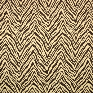 CLARENCE HOUSE MOGAMBO FABRIC BROWN