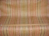 CLARENCE HOUSE MONTAGUE WOVEN VELVET FABRIC APRICOT