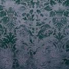 CLARENCE HOUSE PALAZZO GRASSI SILK FABRIC BLUE