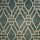 CLARENCE HOUSE PUJARI WOVEN FABRIC BLUE