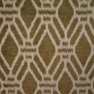 CLARENCE HOUSE PUJARI WOVEN FABRIC BROWN