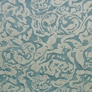 CLARENCE HOUSE SHERWOOD FABRIC BLUE 3