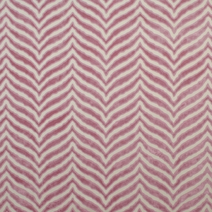 CLARENCE HOUSE TIGER TIGRE CUT VELVET FABRIC PLUM