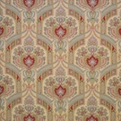 CLARENCE HOUSE HYDERABAD PAISLEY LINEN FABRIC MULTI