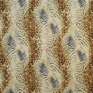 CLARENCE HOUSE SURI LEOPARD PALMS COTTON FABRIC ORIGINAL