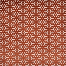 DESIGNER APOLLINA BELGIUM CUT VELVET FABRIC PERSIMMONS CREAM