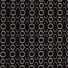 DESIGNER CONTEMPORARY GEOMETRIC CUT VELVET FABRIC BLACK CREAM
